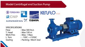 Centrifugal Pump - Distributor Pompa Equal